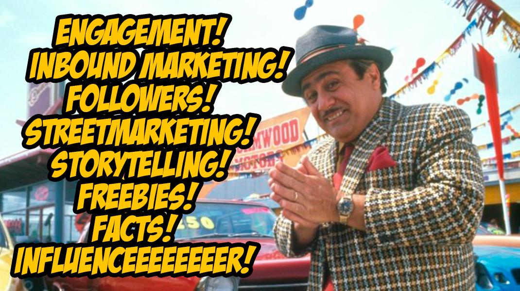¿Quién lleva mis redes sociales? El community embaucador es como el vendedor de coches de las películas americanas.